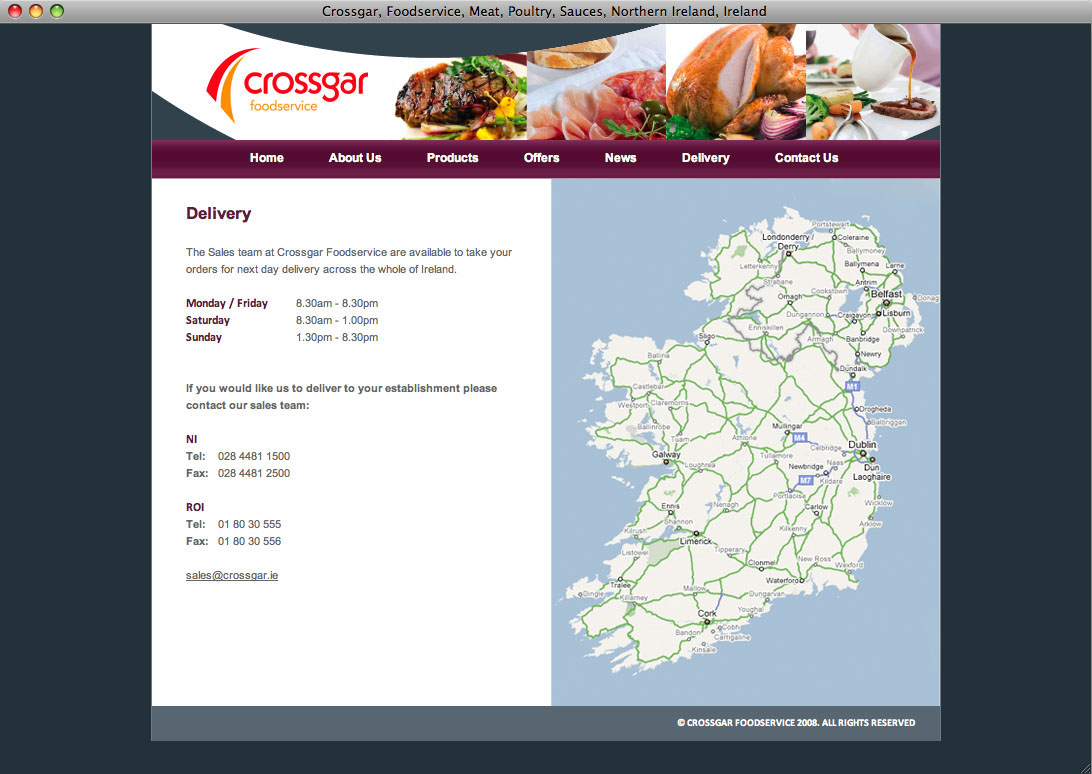 Website designers Belfast design 10f by veetoo design studio Northern Ireland