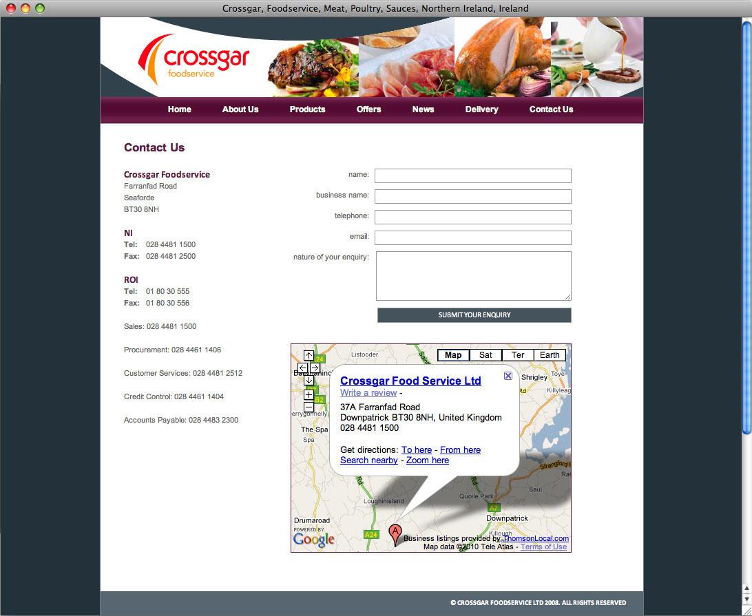 Website designers Belfast design 10g by veetoo design studio Northern Ireland