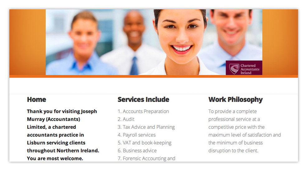 Web designers Belfast design 3 top image by veetoo design studio Northern Ireland
