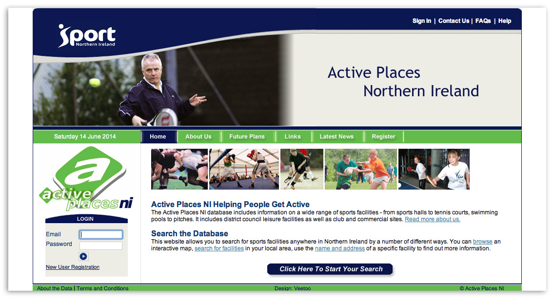 Web designers Belfast design 4b by veetoo design studio Northern Ireland
