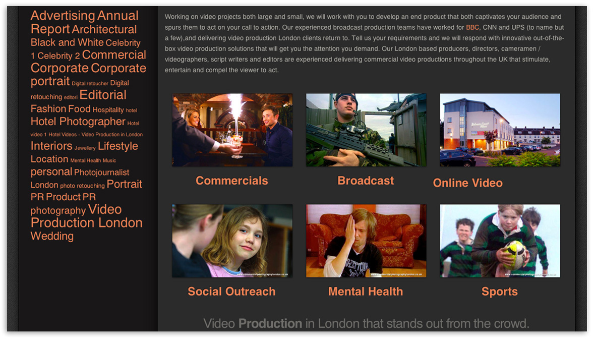Website designers Belfast 2 web page design 6 by veetoo design studio Northern Ireland