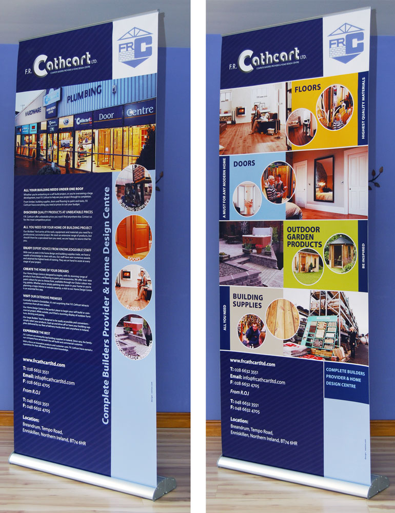 Graphic designers Belfast design 6 side image