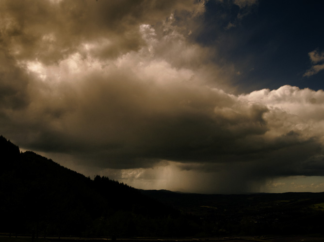 Irish landscape photograph of storm clouds, Rostrevor, Northern Ireland - photo 1788 photo icon.