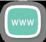 Website design services icon illustration.