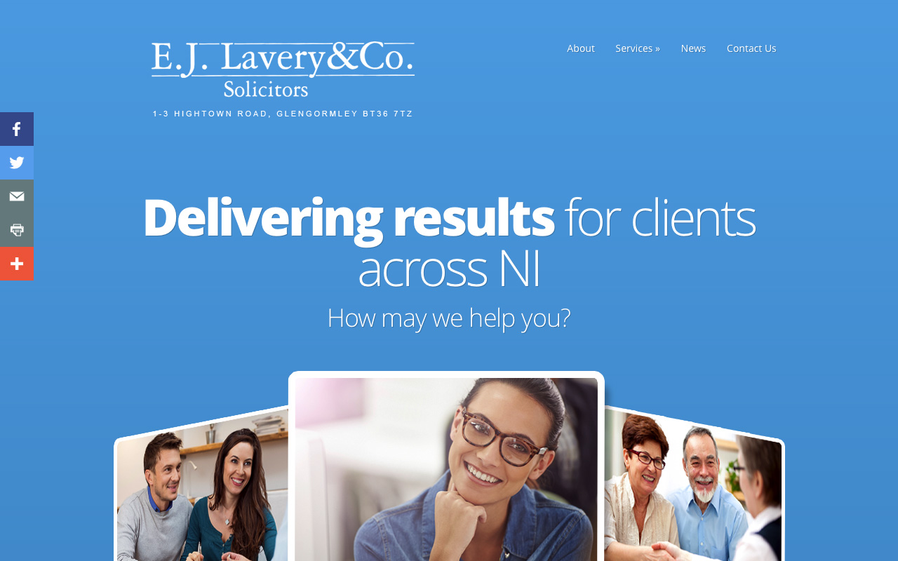 Web designers Belfast project overview EJL 1.