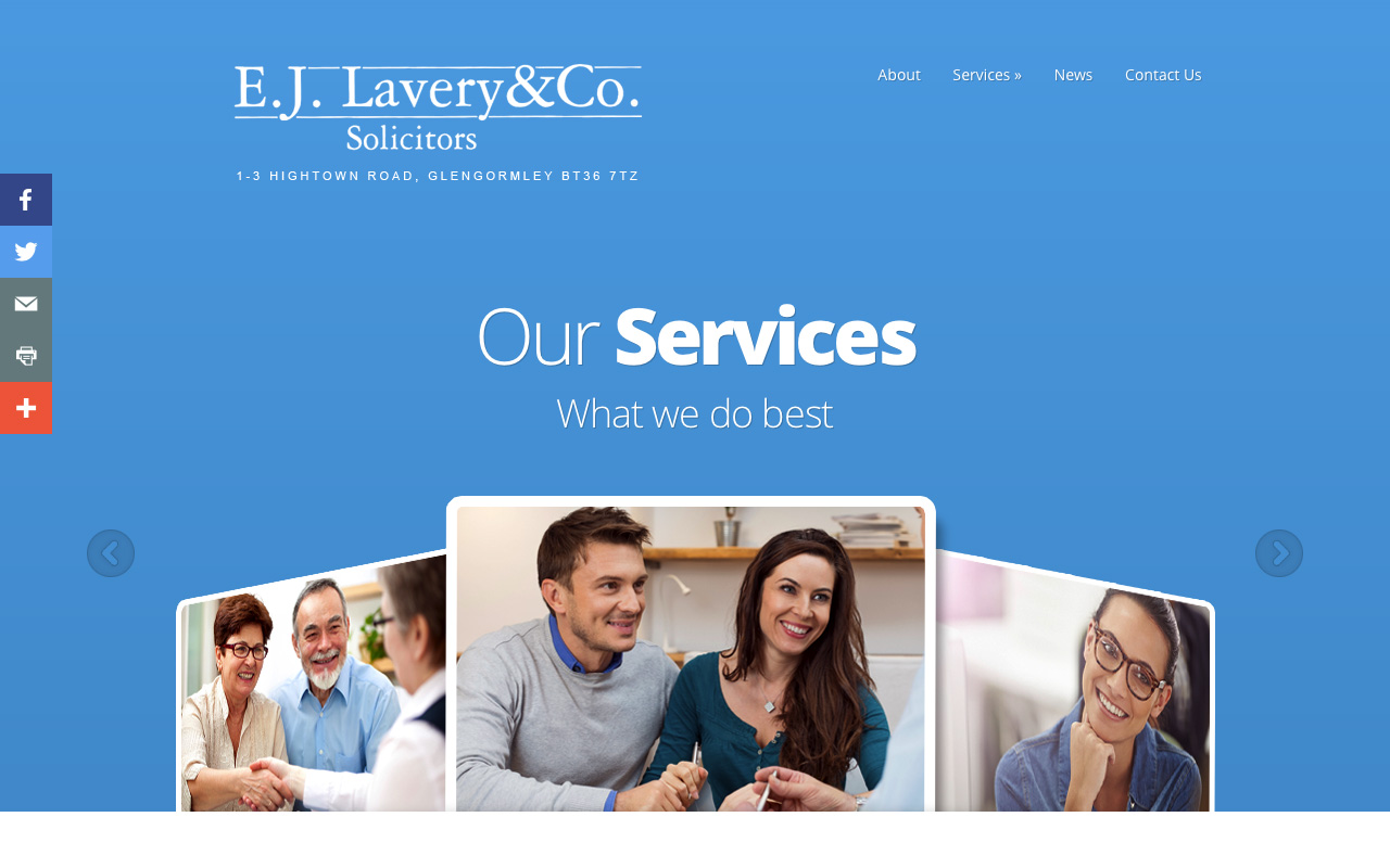 Web designers Belfast project overview EJL 3.