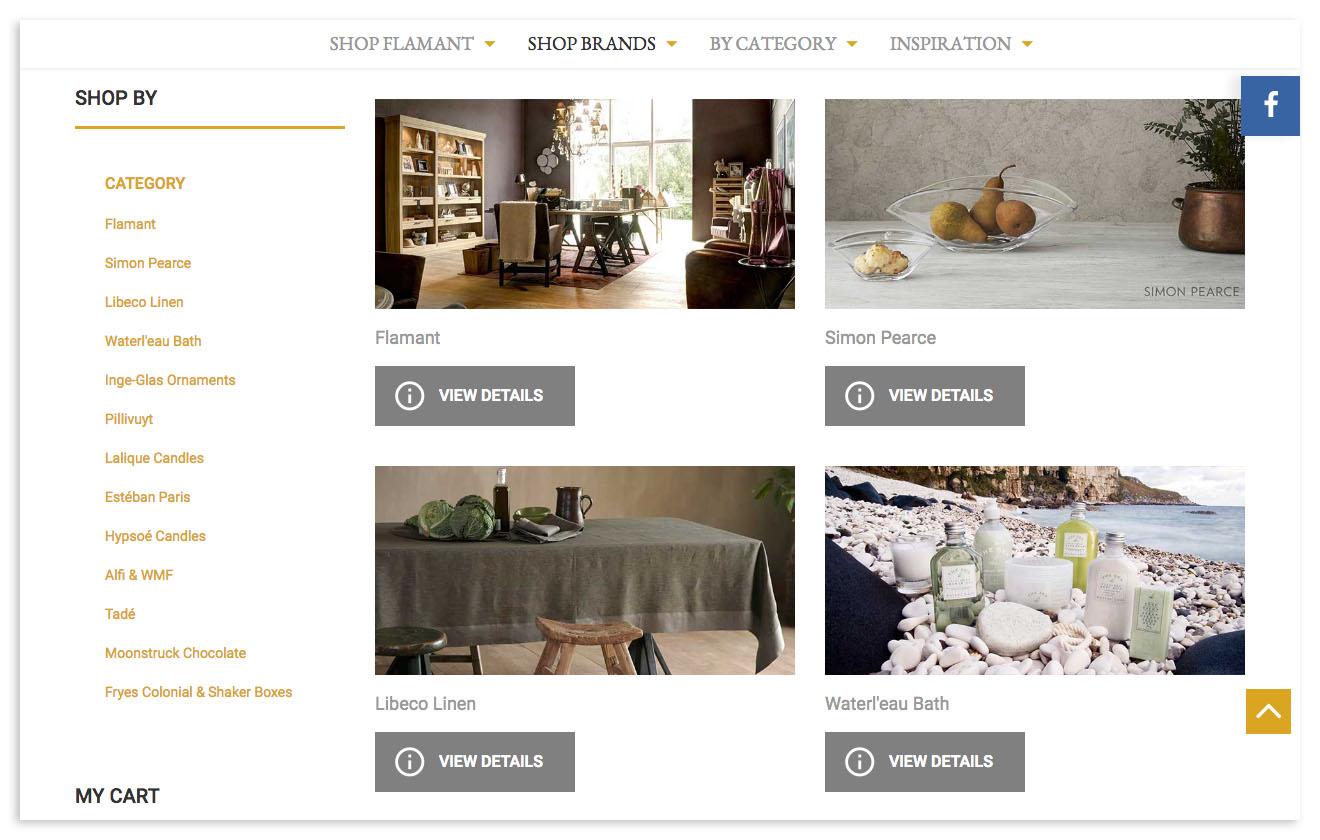 Web designers Belfast portfolio cs screenshot 4.